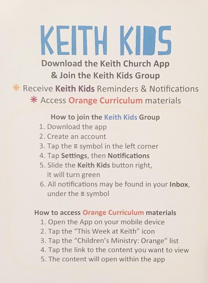 Orange – The Keith Church Blog